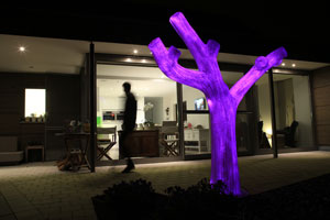 LED Tree polyester